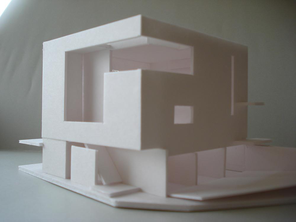 北東からの模型